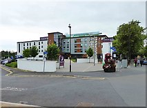 SO8454 : Premier Inn, New Road, Worcester by P L Chadwick