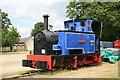 TL3701 : Royal Gunpowder Factory Waltham Abbey - locomotive by Chris Allen