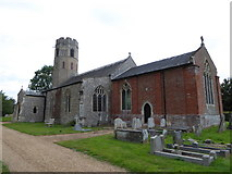 TM2692 : St Margaret, Topcroft: late July 2016 by Basher Eyre
