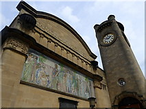 TQ3473 : The front of Horniman Museum, Forest Hill by pam fray
