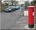 SS8377 : King George VI pillarbox, Newton, Porthcawl by Jaggery