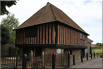 TR1859 : Town Hall, King Street, Fordwich by Jo Turner