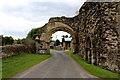 SE5479 : Old Gatehouse Remains, Byland Abbey by Chris Heaton