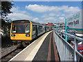 SO0505 : Merthyr Tydfil railway station by Gareth James