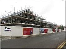 NT9953 : New office development, Walkergate, Berwick-upon-Tweed by Graham Robson