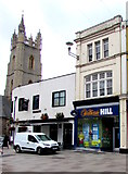 ST1876 : William Hill, Cardiff city centre by Jaggery