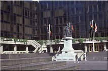 SU6400 : Part of Guildhall Square in 1985 by Barry Shimmon