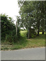 TM0173 : Footpath to Walsham Road by Adrian Cable