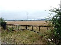 SK7060 : Field gate near Maplebeck by Graham Hogg