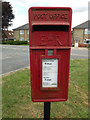 TM0071 : Mill Close Postbox by Adrian Cable