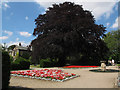 SE4535 : Formal garden at Lotherton Hall (1) by Stephen Craven