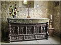 SE4436 : Lotherton Chapel, altar by Stephen Craven
