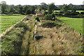 SP6626 : Dismantled railway near Twyford by Philip Jeffrey