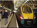TQ3083 : Train  for  Hull  at  Kings  Cross  Station by Martin Dawes