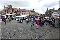 NU1813 : Alnwick Market by DS Pugh