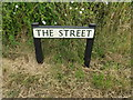 TL9874 : The Street sign by Adrian Cable