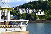 SH5873 : View to shore from Bangor Pier by David Martin