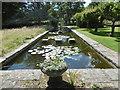 TQ6927 : Ornamental pond, King John's Garden by Marathon