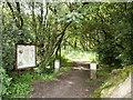 NY3858 : Entrance to Kingmoor Nature Reserve by David Dixon