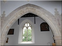 TM2692 : Inside St. Margaret, Topcroft (xxix) by Basher Eyre