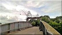 SE5946 : The Fisher of Dreams on Naburn bridge by Chris Morgan