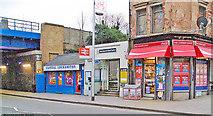 TQ2976 : Wandsworth Road station entrance, 2009 by Ben Brooksbank
