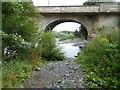 NY9464 : Under Hexham Bridge by Oliver Dixon