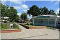 SJ8485 : Heald Green Library by Geoff Royle