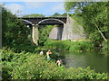 SP8041 : Cosgrove aqueduct over Great Ouse River by Oast House Archive