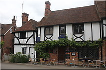 TR0653 : Orion's Cottage and Shelly's Tea Rooms, The Square, Chilham by Jo Turner