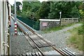 SC4593 : Manx Electric Railway at Ballure Bridge by Alan Murray-Rust