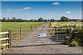 SP0941 : Farm access road by David P Howard
