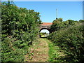 SC2785 : Bridge with a new parapet, the former Manx Northern Railway by Christine Johnstone