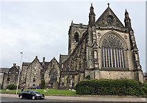 NS4863 : Paisley Abbey by Thomas Nugent