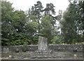 NN8765 : War Memorial, Blair Atholl by Douglas Nelson