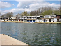 SP5105 : College Boathouses, Oxford by David Purchase