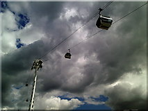 TQ3979 : Emirates Air line by Peter S