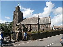 SN2514 : St Teilo's Church, Llanddowror by John Lord