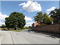 TM0688 : Heath Road, Banham by Adrian Cable