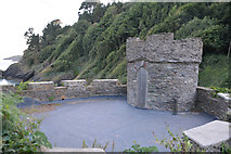 SX8950 : South Hams : The Mill at Mill Bay Cove by Lewis Clarke