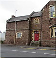 SO6303 : Former public entrance to the former police station, Lydney by Jaggery