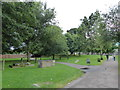 TG5208 : Great Yarmouth Minster: churchyard (iii) by Basher Eyre
