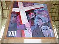 TG5208 : Great Yarmouth Minster: Eighth Station of the Cross by Basher Eyre