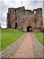 NY5329 : Gatehouse and Keep, Brougham Castle by David Dixon