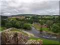 NY5329 : View from Brougham Castle Keep by David Dixon