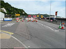 TR3140 : Roadworks on the A20 by John Baker