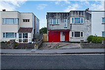 ST3261 : Modernist houses, Weston super Mare by Julian Osley