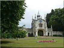 SE5947 : The gatehouse to Bishopthorpe Palace by Graham Hogg