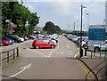 ST1067 : Barry Station Car Park, Barry by Jaggery