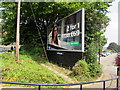 ST1067 : JCDecaux advertising site near Barry railway station by Jaggery